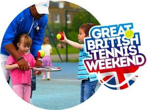 Play Tennis for FREE this weekend (Various Venues) 16th - 17th May / 13th - 14th June / 1st - 2nd August