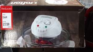 Crofton Halogen Oven £17.99 Aldi West Point St Helens