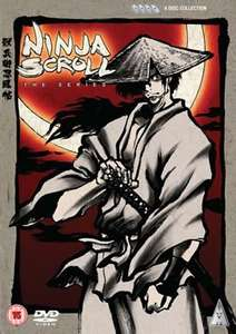 Ninja Scroll Complete 4 Disc Collection £9.99 @ Anime-On-Line