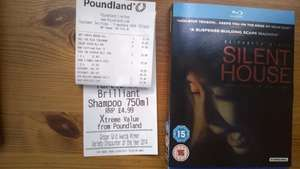 Silent House Blue ray £1.00 @ Poundland