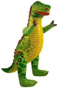 Inflatable Dinosaur (Finds it hard making beds) @ Logic-Sale/Amazon £1.57 Free Delivery
