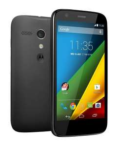 1st gen Motorola Moto G + 4G Black Vodafone at Tesco £100 with code free delivery/C&C