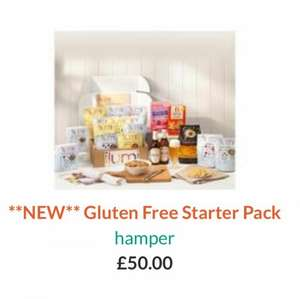 Ilumi Gluten Free Hamper 1/2 price with code. £25 with free postage.