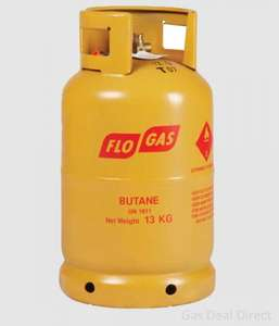 13kg (full) Butane Gas Cylinder £23.99 delivered @ Gas Deal Direct (NO deposit/empty required)