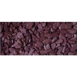 Plum slate at B&M. (3 x 20Kg bags) = 60Kg Only £10