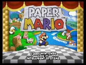 [Wii U Virtual Console] Paper Mario £8.99 - From Thursday @ Nintendo eShop