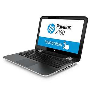 "HP Pavilion x360 13-a052na Convertible Laptop, USB 2.0 & 3.0, AMD A8, 8GB RAM, 1TB, bluetooth, 13.3"" Touch Screen  + Free upgrade to Windows 10 + FREE Printer + 2 Year guarantee £399.95 @ John Lewis"