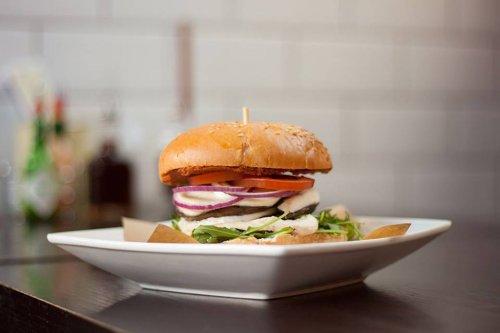 Free Italian Mushroom Stack burger at Handmade burger 19 may 5pm - 8pm
