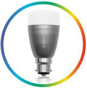 Yeelight Bluetooth Smart LED Lightbulb (B22/E27) Now £29.99 @ eBuyer