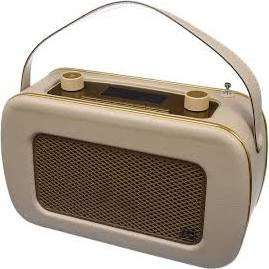 Kitsound Jive DAB Retro Radio in Cream or Blue £35 Tesco Fforestfach