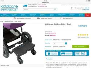 Kiddicare stride and ride buggy board only £12.99 (plus £2.99 P&P)