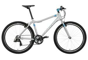 Carrera Parva Limited Edition Womens Hybrid Bike 2015 -  Silver £179.00 at halfords