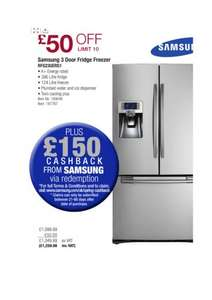 Samsung RFG23UERS £1259.99 (£1088.01 after cashback and costco cashback) @ Costco