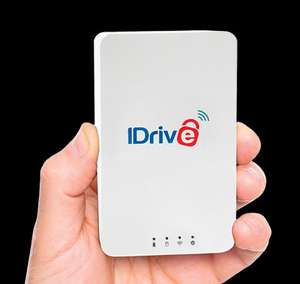 1TB wifi HDD with battery, plus 1TB iDrive cloud storage £38.50 (approx) @ iDrive