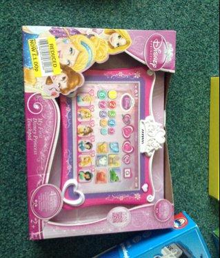 Disney princess touchpad £1 Tesco