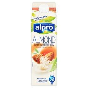 Alpro Unsweetened Almond Milk 94p - Asda