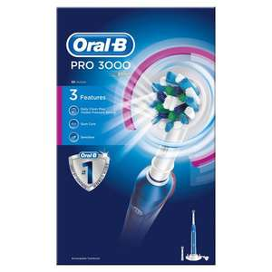Oral B Pro 3000 electric toothbrush £30.00 @ Wilko