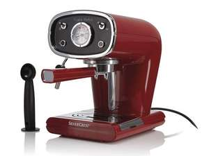 SILVERCREST KITCHEN TOOLS Espresso Machine £49.99 @ lidl from 28 may