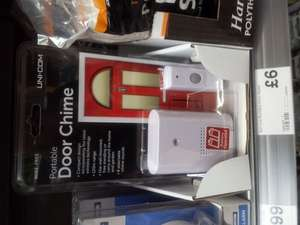 UniCom wireless doorbell £6.00 instore at Morrisons
