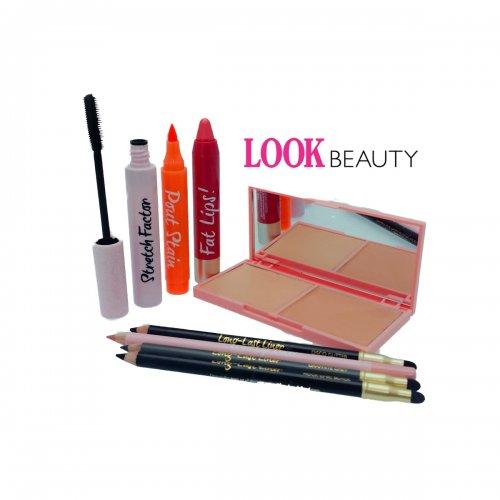 Look Beauty Bundle-Eyes,Lips,Face £5.99 + £2.99 del (£8.98) - Half Price Perfumes