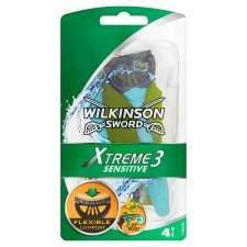 Wilkinson Sword Xtreme 3 Comfort Plus Sensitive Razor 4S £2.00 @ Tesco