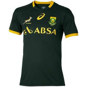 South Africa Rugby Supporters Tee Shirt half price £14.99, was £28.99 @ Rugbystore.co.uk
