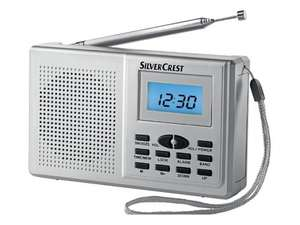"High Quality Portable Radio - Silvercrest SWED 100A ""Digital Multi Band Radio""  SW/FM/MW - Just £6.99 @ Lidl"