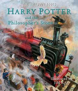 Harry Potter and the Philosopher's Stone Illustrated Edition Hard Back 1st Edition - £27 Pre order @ Bloomsbury / Amazon