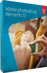 Adobe Photoshop Elements 13 (PC/Mac) £34.99 - Amazon