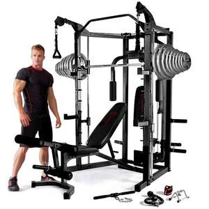 Marcy Eclipse RS7000 Deluxe Smith Machine Home Gym & 125kg Set Package £999.99 - Pure Fitness and Sports
