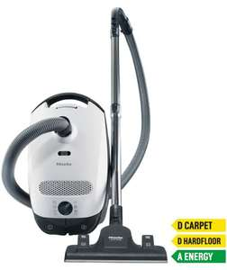 Miele Classic C1 EcoLine Plus Bagged Cylinder Vacuum Cleaner £99.99 @ Argos