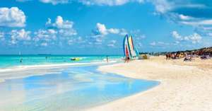 CUBA 7 NIGHTS 4* ALL INCLUSIVE JUST £525PP Departing Manchester 28th May, all flights,hotel baggage ,transfers, in flight ,meals & all inclusive hotel good tripadvisor reviews £1051.90 per couple @ holidayhypermarket
