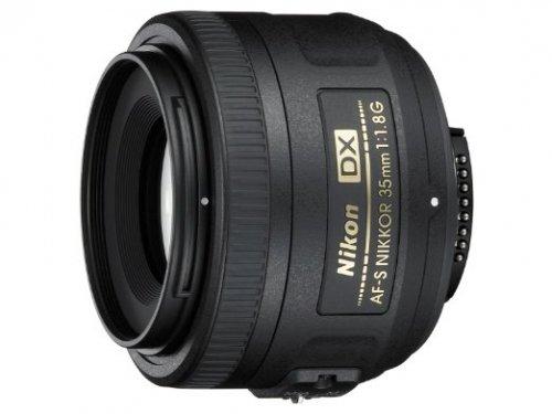Nikon AF-S DX NIKKOR 35mm f/1.8G Lens £128.89 (£108.89 after Nikon cashback) @ Amazon