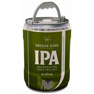 Greene King IPA 5 Litre Mini Keg - £9.99 at B&M (=£1.14/pt)