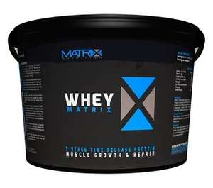 Whey Matrix Protein Powder 5kg £29.99 @ Suppliment Centre