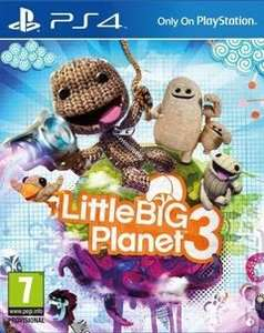 {PS4} Little Big Planet 3 £16.77 [After Code] Delivered @ Xtra-Vision Ireland