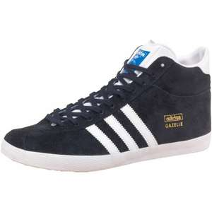 £46 OFF!!! adidas Originals Womens Gazelle OG Mid Trainers Ink/White/Gold £23.99 @ M&M Direct