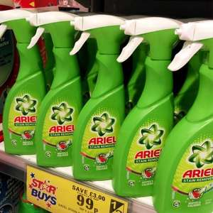 Ariel stain remover 500ml spray only 99p @ Home Bargains