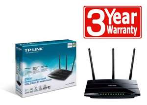 TP-LINK TD-W9980 N600 Wireless Dual Band Gigabit VDSL2/ADSL2+ Modem Router @ Amazon £60.58