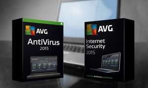 Three-PC Two-Year AVG 2015 License: Anti-Virus (£9.99) or Internet Security (£19.99) (Up to 83% Off) @ Groupon