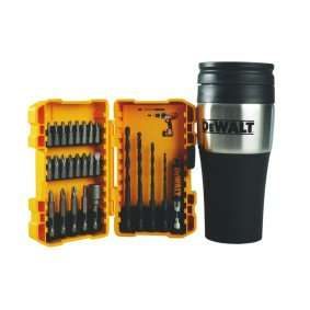 DeWalt 26-Piece Drill and Screwdriving Set with Thermal Mug £9.99 @ Maplins
