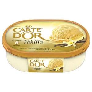 Carte D'Or Ice Cream Dessert 900ml  now £1.50 at Morrisons
