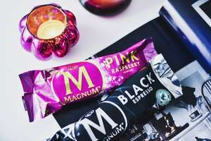 £1.67 Magnum Pink Raspberry or Black Espresso (3 pack) at Tesco or The Co-Op
