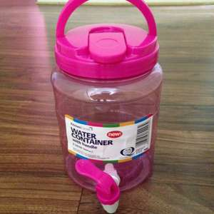 Water container/dispenser £1 @ Poundland