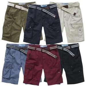 Charles Wilson Men's Cargo Shorts with Matching Belt £12.95 @ charles_wilson eBay Store