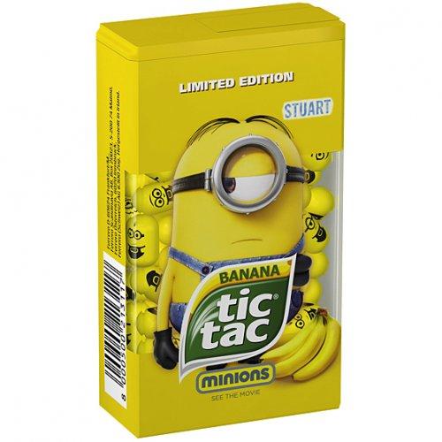 Minions Banana Tic Tacs (49g) £1 @ PoundLand