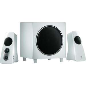 Logitech Z523 Speaker System  white (refurbished) £36.99 @ technoshack