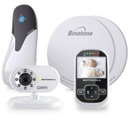 Motorola MBP26 Digital Video Monitor Babysense Bundle £45 @ ASDA