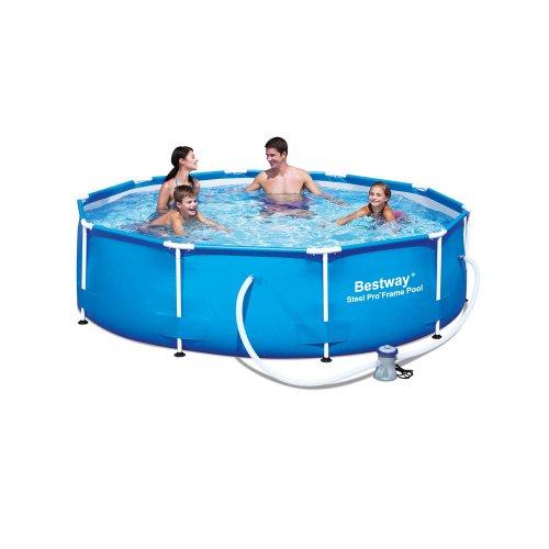 10ft X 30in Steel Frame Bestway Pool Inc. Pump + Filter £70 - Wilko