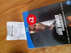 Die Hard Quadrilogy Blu Ray £2 @ Morrisons